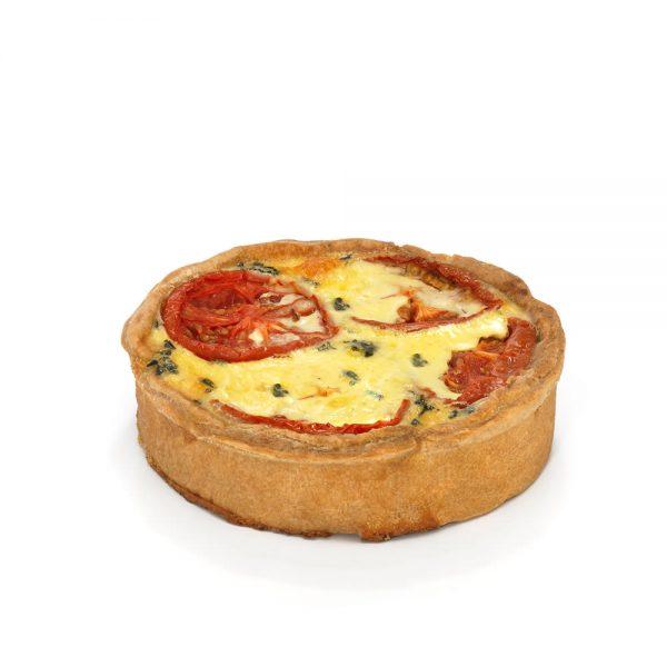 La Quiche tomate-mozzarella