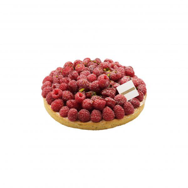 Pâtisserie Tarte framboise